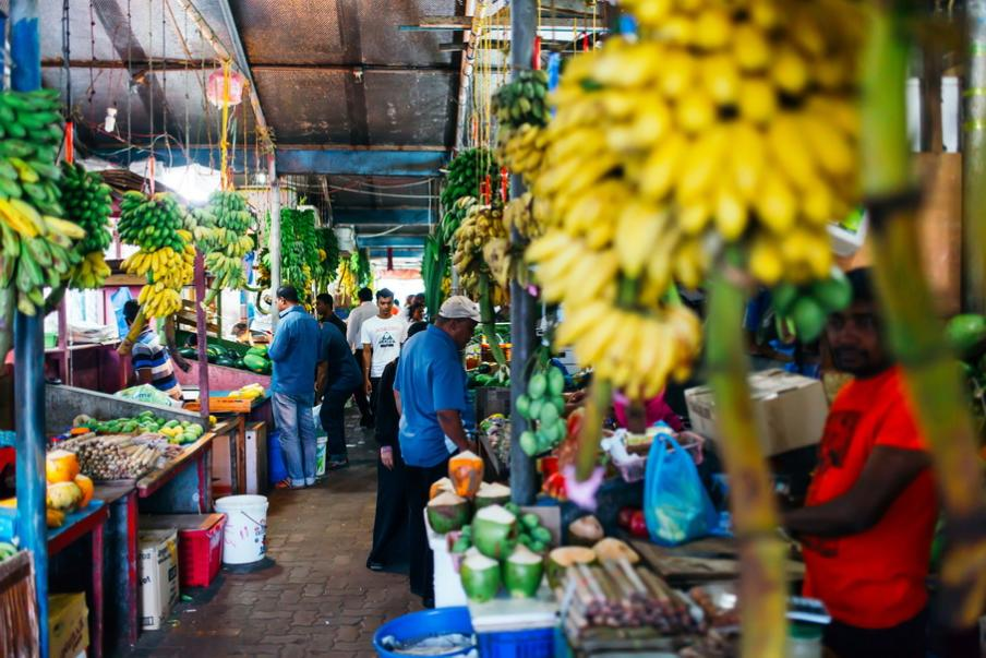 Malé fruit market