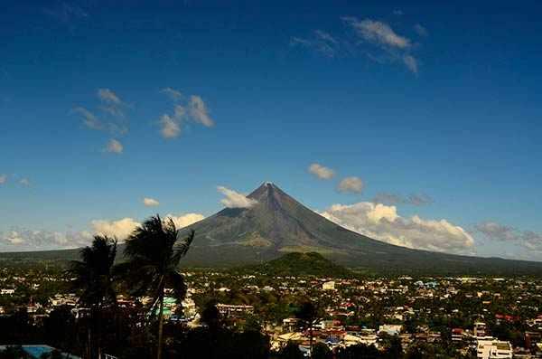 Вулканы Майон